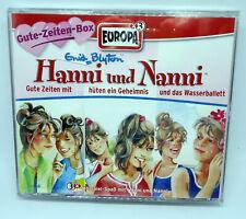 Hanni und Nanni 3er Box - Folgen 22 / 23 / 24 - Europa Hörspiel CD