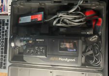Sony Auto HandyCam Video 8 CCD-V5 Camcorder W/ Case/Cords No Batteries Untested