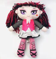 Monster High Draculaura  Girl Rag Plush doll 18 inch