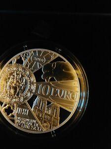 👍10 Euro BE ARGENT 900/ FRANCE 2019 - RECONSTRUCTION DE NOTRE DAME DE PARIS -