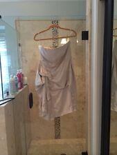 KAREN MILLEN Sexy Formal  DRESS Gold BEIGE SIZE US 12 Uk 16