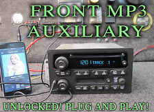 03 04 05 CHEVY SUBURBAN ESCALADE CD DISC CASSETTE Player MP3 IPOD AUXILIARY AUX