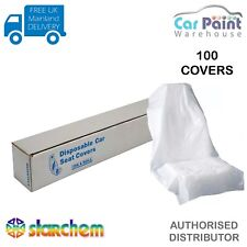 Starchem Disposable Polythene Seat Covers Roll Of 100 Covers