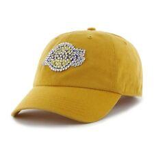 NBA Women's Los Angeles Lakers Retro Logo Rhinestone Adjustable Twill Cap
