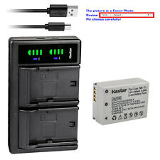 Kastar Battery LTD2 Charger for Canon NB-7L CB2LZ Canon PowerShot SX30 IS Camera