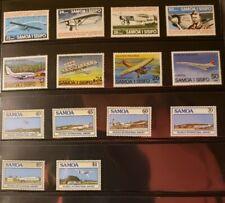 Samoa Aircraft & Aviation Stamps Lot of 17 - MNH -See List