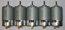 5 X Mabuchi 555 12V DC Motor - Model Boat / Ship / Train O Gauge Engine Motors