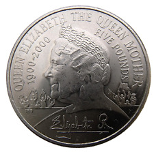 ENGLAND - GREAT BRITAIN - 5 POUNDS 2000 100 YEARS OF QUEEN MOTHER - ELIZABETH