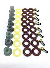 FUEL INJECTOR REPAIR KIT O-RINGS, PINTLE CAPS, SPACER FILTERS FORD TRUCK 7.5L V8