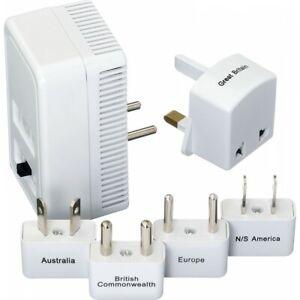 Go Travel E7 Universal Worldwide Adaptor Kit & Dual Convertor Plug Set White 382