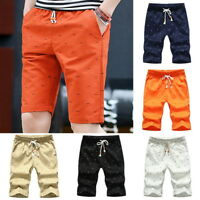 Men Shorts Boardshorts Casual Holiday Beach Shorts Pants Drawstring Plus Size