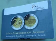 Deutschland 2 Euro 2019 Bundesrat Coin-Card A Berlin Gedenkmünze commemorative