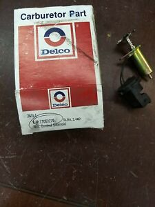 Mixture Control Solenoid Standard MX26 NEW ORIGINAL ROCHESTER GM 17063279 b64