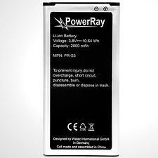 PowerRay Handy Akku Batterie PR-S5, 2800 mAh für Samsung Galaxy S5, battery