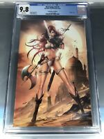 RED SONJA #V5 #1 7ate9comics.com Edition CGC 9.8 Virgin Tyndall Beautiful!! 🔥