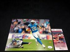 DESMOND KING LOS ANGELES CHARGERS SIGNED 8X10 PHOTO JSA WITNESS COA WPP260826