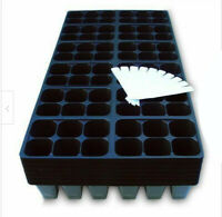 Seed Starter Trays, 1440 Cells: (240 Trays) Plus 10 Plant Labels, Germination