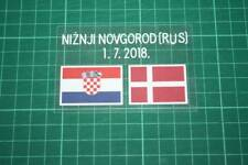 CROATIA World Cup 2018 Away Shirt Match Details CROATIA Vs DENMARK
