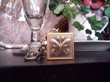 Neiman Marcus St John Keyring Purse Charm Bear Butterfly Heart Key Ring