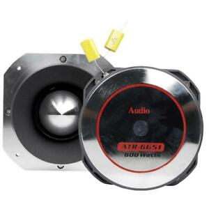 "Audiopipe ATR6651 4"" 800 Watt Heavy Duty Titanium Super Tweeter OPEN BOX"