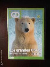 DVD LOS GRANDES OSOS - DE LA CUNA A LA TUMBA - BBC - COMO NUEVA