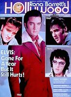 Elvis Presley Magazine 1978 Rona Barretts Hollywood Memorial Tribute Pinup Photo