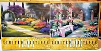 (2) Limited Edition 1000 pcs. Puzzles, Garden Arbor and Afternoon Repose