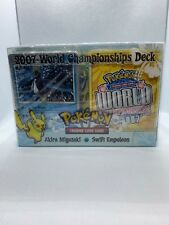 Pokemon 2007 World Championship Deck Set - Akira Miyazaki