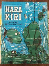 Hara Kiri No 10. Juillet Aout 1960
