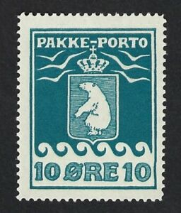 GREENLAND 1915 POLAR BEAR Nº 4 * MH