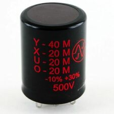 JJ 40/20/20/20uF @ 500V multisection electrolytic can tube amp capacitor TC549
