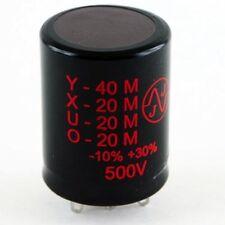 JJ 40/20/20/20uF @ 500V multisection electrolytic can tube amp capacitor TC549