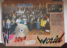 IVAN - WE ARE THE WORLD - MICHAEL JACKSON- SPRINGSTEEN / A2 SIZE SPANISH POSTER