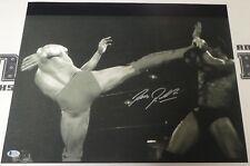 Bas Rutten Signed 16x20 Photo Beckett COA UFC 18 20 Pancrase IFL MMA Autograph 6