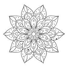 Handwritting Mandala Design Sticker Decor Car, Fridge, Laptop, Wall Art Decal
