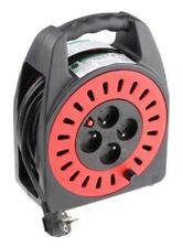 25m Extension Reel Type E - French,4 Socket No,Unwound Current Rating 16A,230 V