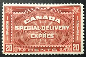 CANADA 1932 # E5 - 20 cent HENNA BROWN - SPECIAL DELIVERY MH
