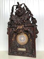 SALE ! Exceptional Neo renaissance/Black Forest carving /Gunpowder 27.755 inch