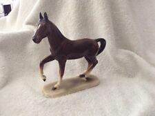 VINTAGE GERMAN PORCELAIN HORSE FIGURE