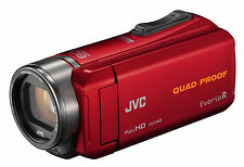 JVC GZ-R435 4 GB Camcorder - Red
