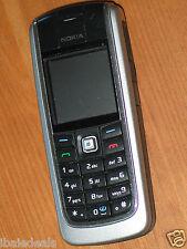GSM Portable BLACK Unlocked Mobile Nokia 6021 NOIR Débloqué