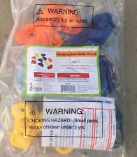 """Kids Large Rock Climbing Holds 10 Pack - with Mounting Hardware for up to 1"""""""