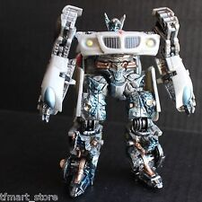 "Custom Transformers Movie Jazz Metallic Paint ""Battle Damaged"" Look"