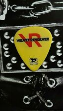 VELVET REVOLVER Duff slightly obscure yellow guitar pick