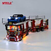 LED Light Up Kit für LEGO 42098 TECHNIC Autotransporter Spielzeugbausteine Kit