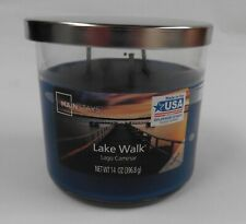 Mainstays 14oz Lake Walk Scented Candle - 3 Wick Candle