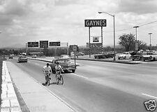 Burlington VT 1965 used car lot 8 x 10 Photograph
