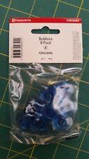 Husqvarna Viking Blue Bobbins 8 pack 920434096 - Fits category 8 Viking machines