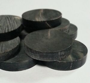 10 BUFFALO HORN SPACER and/or CAPPING DISKS for STICK MAKING Crafts & Jewellery