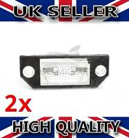 2X REAR NUMBER PLATE LIGHT LAMP FOR FORD FOCUS MK2 C-MAX 3M5A13550AA - 4502331